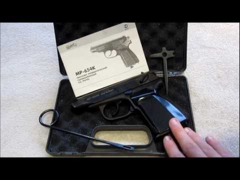 2004 Baikal Makarov mp-654k review