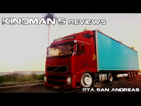 Volvo FH12 Low Deck Trailer
