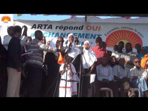 USN Election Legislative 2013, belle chanson au meeting de l'USN à Arta
