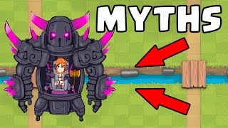 Top 10 Mythbusters in Clash Royale | Myths #3