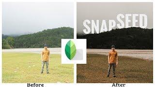SNAPSEED Tips sử dụng cần phải biết: Xóa mụn, khung trắng, chèn 3D text, ảnh chân dung bokeh
