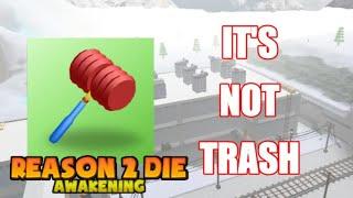 Toy Hammer Is Not TRASH! Roblox R2DA