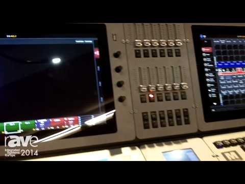 ISE 2014: Martin Professional Demonstrates M6 Lighting Controller