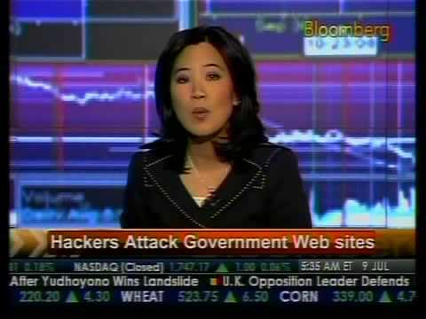 Hackers Attack Government Web Sites - Bloomberg