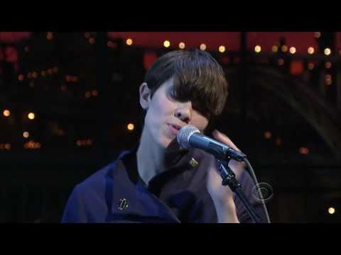 Theophilus London with Sara Quin - Why Even Try on Letterman Feb 14 2011
