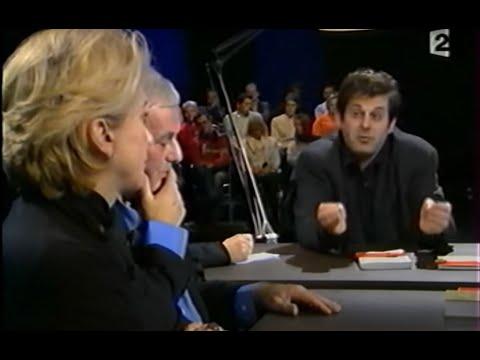 Stéphane Zagdanski et Catherine Deneuve sur littérature et cinéma, France 2, 2004