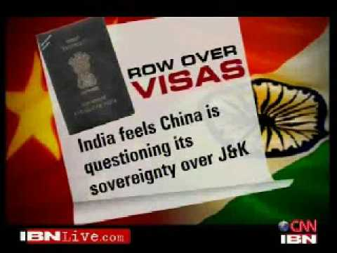 China issues separate visas to Kashmiris