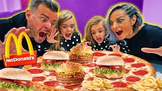 LA NUEVA PIZZA de MCDONALDS!! ItarteVlogs