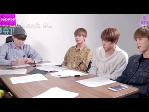 [ENG] A SAVAGE JUNGKOOK ON BTS 꿀 FM 06.13 : 2017 BTS FESTA 방탄소년단 정국