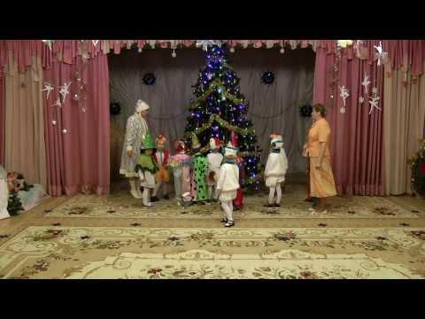 Новогодний детский сад видео