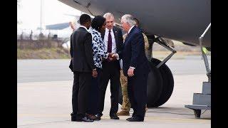 US Secretary of State Tillerson arrives in Kenya for visit