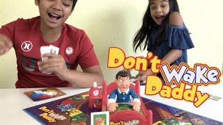 Don't Wake Daddy Family Game + Surprise Toy | Toys Academy