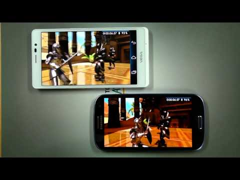 'VEGA R3' vs 'Galaxy S3 LTE' - Gaming Performance