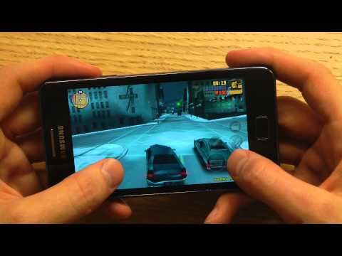 GTA 3 Galaxy S2 Plus Gameplay Review