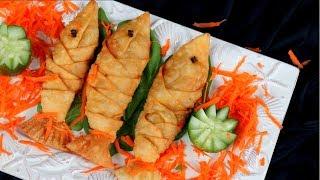 মাছ পিঠা || Fish Pitha || Bangladeshi Mach Pitha Recipe || Jhal Pitha Bangla || Pitha