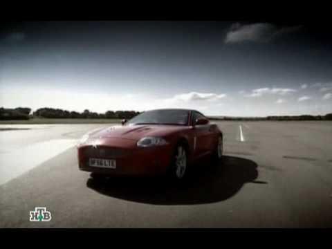 Top Gear - Jaguar XKR vs Aston Martin V8-Vantage (на Русском)