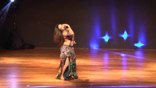 Juliet setiawan Belly Dance Asia 2014