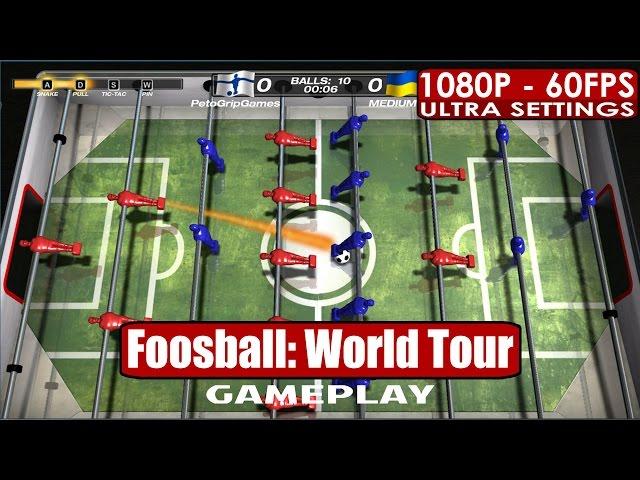 Руководство запуска: Foosball World Tour по сети