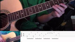 "How to play ""Fireflies"" on guitar like Sungha Jung RE-DONE part one"