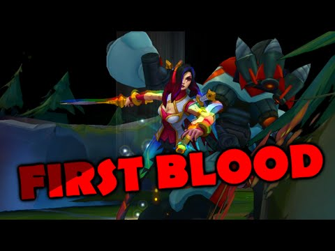 FIRST BLOOD (Taylor Swift - Bad Blood League of Legends PARODY)