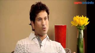 Sachin Tendulkar discusses his century against South Africa!
