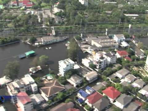 Aerial images of flooded Bangkok