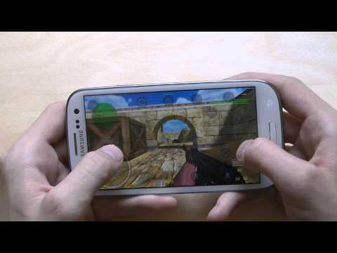 Counter-Strike 1.6 For Samsung Galaxy S3 First Gameplay Hands-On