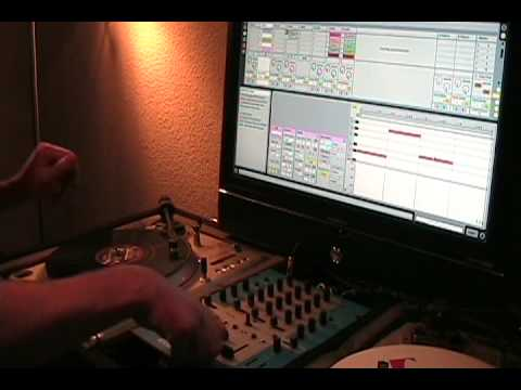 Scratching in Ableton Live: ammobox