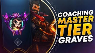 COACHING MASTER TIER GRAVES | League of Legends