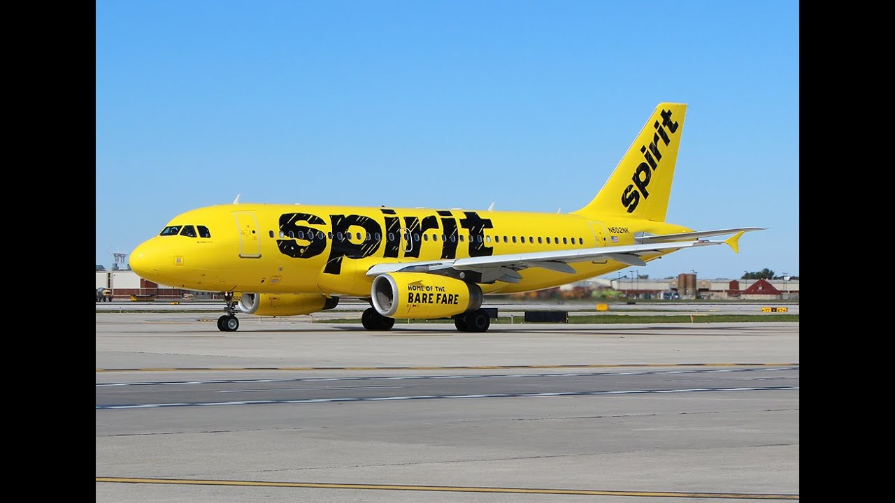 Spirit Airlines Livery 3 Spirit Airlines Liveries of