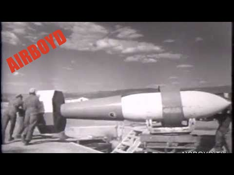 Tarzan Radio Controlled Guided Bomb (1952)