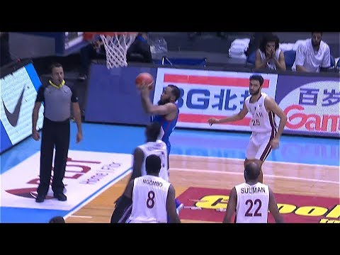 Stanley Pringle's first two points on the FIBA stage | FIBA World Cup 2019 Asian Qualifiers