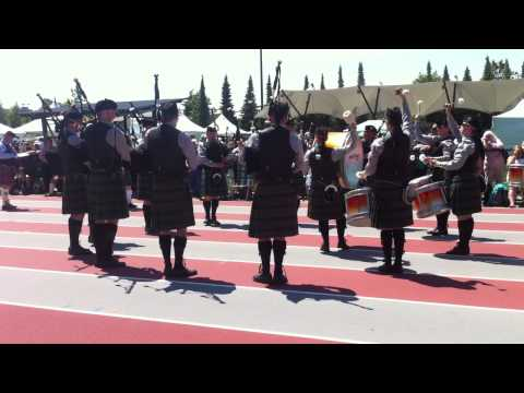 Crescent Beach Pipe Band 2014