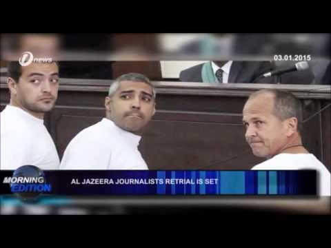 Al Jazeera Journalists Retrial is Set in Egypt