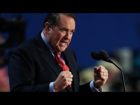 Raw Video: Mike Huckabee's speech at the 2012 RNC