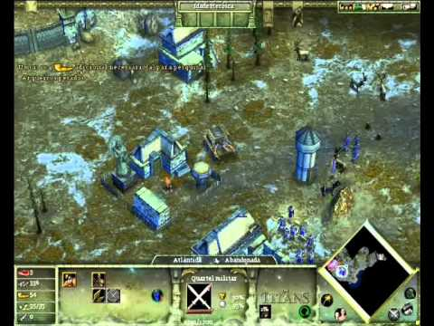 Primeiros Minutos - Age Of Mythology The Titans