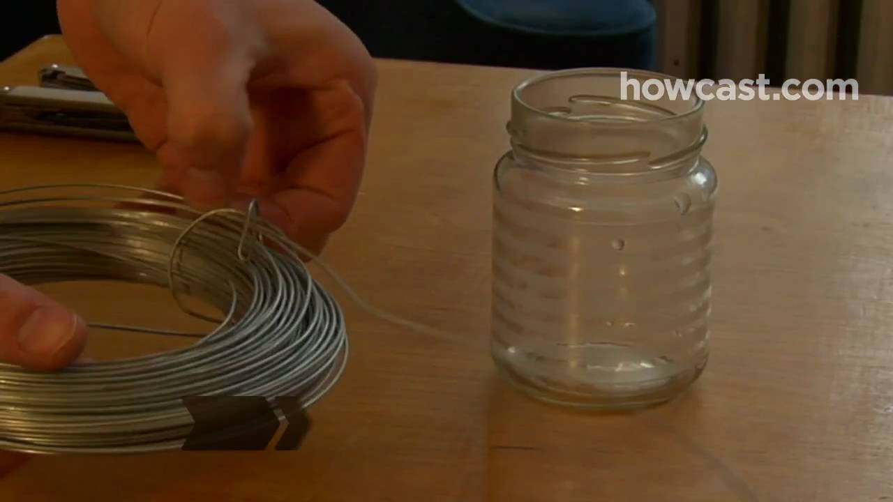 how to make lanterns out of old jars youtube