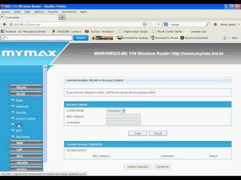 Bem simples - Como configurar roteador Mymax 150 mbps (Wi-fi e Cabo)