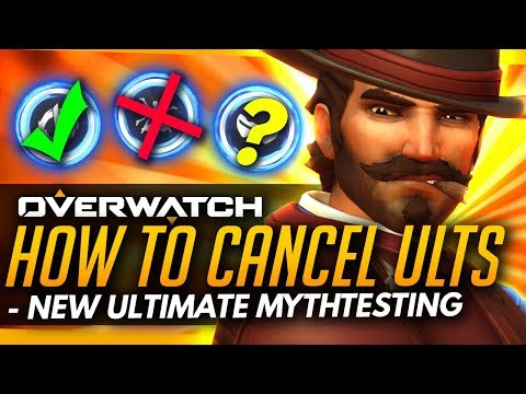 Overwatch | Which Ultimates Can Be CANCELLED - New PTR Ultimate Changes