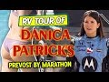 RV Tour Of Danica Patrick's Prevost By Marathon