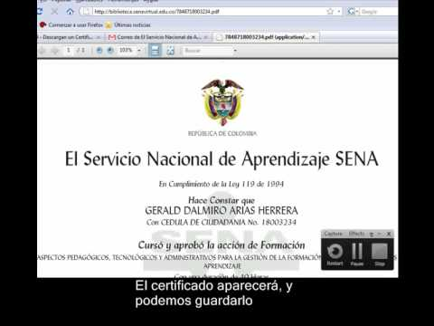 descargar certificado sena virtual