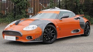 2009 Spyker C8 Laviolette LM85 Start Up, Exhaust, and In Depth Review