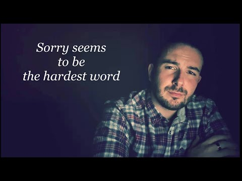 Elton John - Sorry seems to be hardest word - (Covered by Meggyes Csabi) with hungarian translate