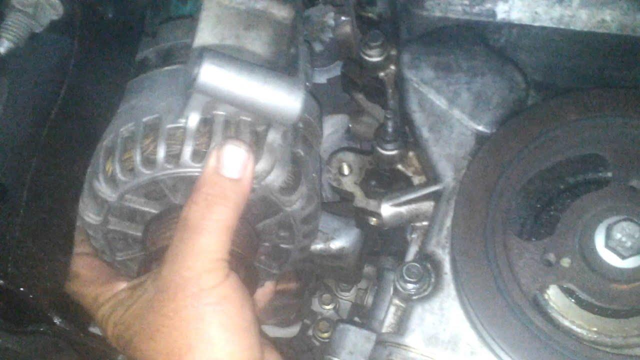 Mazda Tribute 2002 Remove Alternator From Cavity