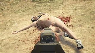 GTA 5 Funny/Gruesome Kill Compilation Vol.7 (Guns/Hillbillies/Gangs/Melee/Running Over/FPS/Cops)