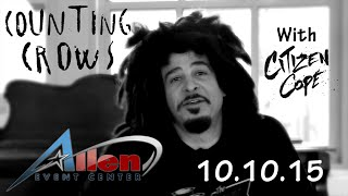 Video Counting Crows Coming to Allen!!!