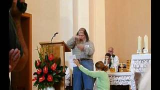 Sign Language Mass - first reading
