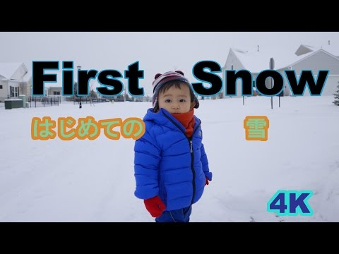 (LX-100 4K movie) First Snow (2015 Ohio Winter)