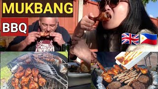 MUKBANG,BBQ,KARAOKE WITH IN-LAWS,MY LIFE IN UK