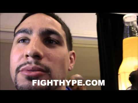 DANNY GARCIA RUNS INTO SHAWN PORTER AFTER TRADING WORDS; SHOWS FIGHTERS DON'T TALK WHEN THEY SEE HIM